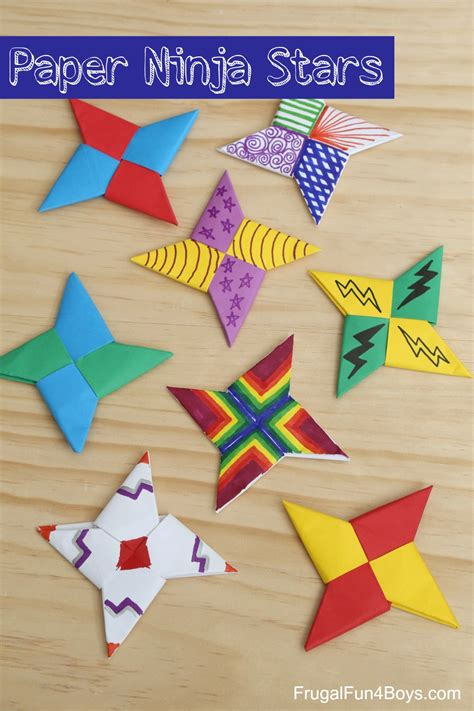 Origami With 8 5x11 Paper - how to fold paper frugal for boys and