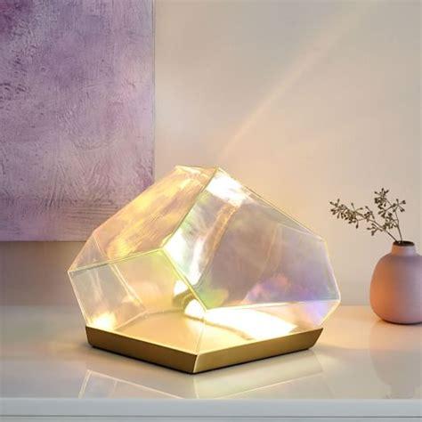 Glass Gem LED Table Lamp   west elm