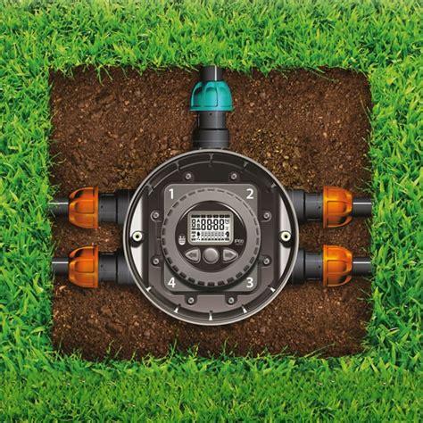 kit irrigazione giardino kit per impianto di irrigazione a batteria hydro 4 claber