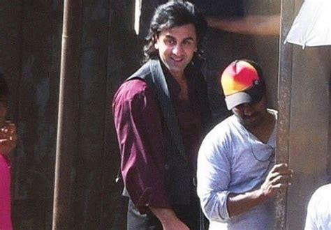first look ranbir kapoor at roy sets filmibeat ranbir kapoor s first look from sanjay dutt biopic gets