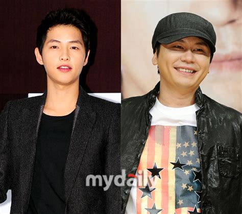one yg actor song joong ki and yg entertainment chosen as the first