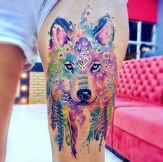 watercolor tattoos regina best 25 watercolor wolf ideas only on