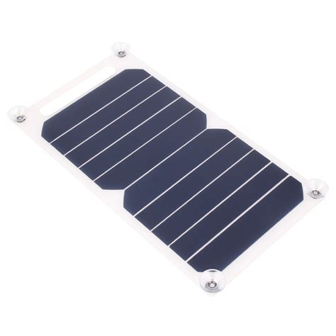 solar phone charger for iphone 5v solar power charging panel charger usb for mobile phone