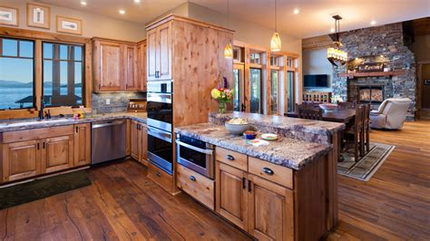 mountain home kitchen design lakeshore mountain home mountain architects hendricks