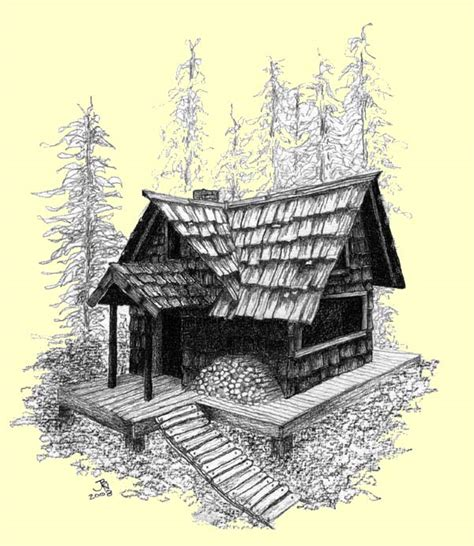 log cabin drawings pencil drawings of small log cabins joy studio design