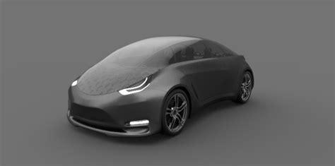 tesla model  concept car milos paripovic blog