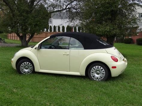 how it works cars 2005 volkswagen new beetle electronic throttle control purchase used 2005 volkswagen convertible beetle new in elmira new york united states