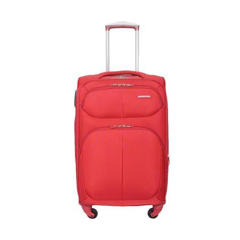 Tas Koper President 22 Inch jual navy club 3861 softcase tas koper merah 22 inch harga kualitas terjamin