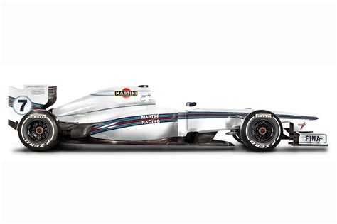 martini livery f1 williams will reveal martini livery at bahrain test f1