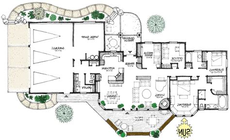 energy efficient homes floor plans prairie energy efficient home plan a true green house plan