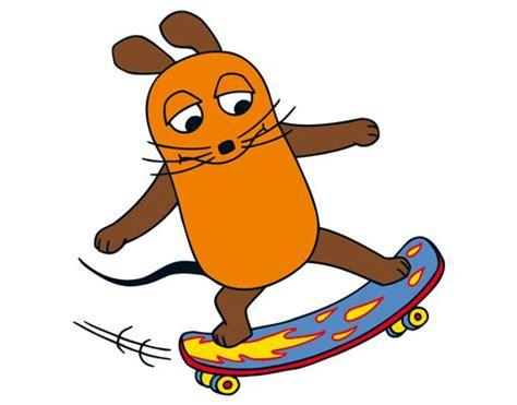 Fenster Aufkleber Kinderzimmer by Fenstersticker Die Maus Skateboardfahren Fenster Tattoos