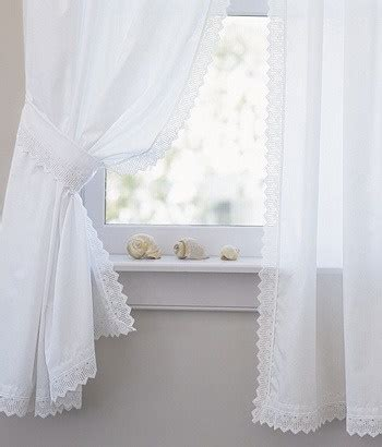 curtains with lace trim white lace trim curtains shell trio curtains pinterest