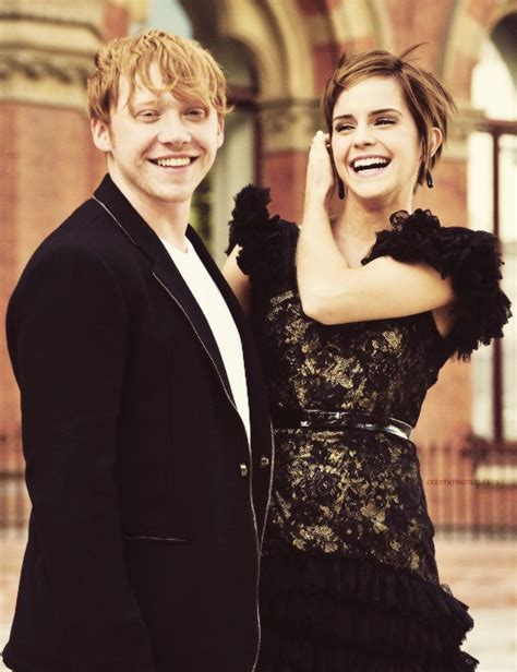 emma watson rupert grint they may not be in costume but together all i can see is