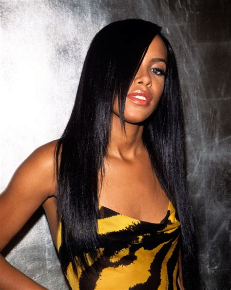 Aaliyah Hairstyle by Happy Birthday To The Late Talented Singer Aaliyah