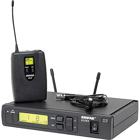 Mic Shure Ulx 4nkoper Alumenium Wireless shure ulx professional series wireless lavalier ulxs14 85 g3