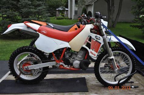 1989 Ktm 250 Exc Buy 1989 Ktm 350 Mxc Clean Completely Stock On
