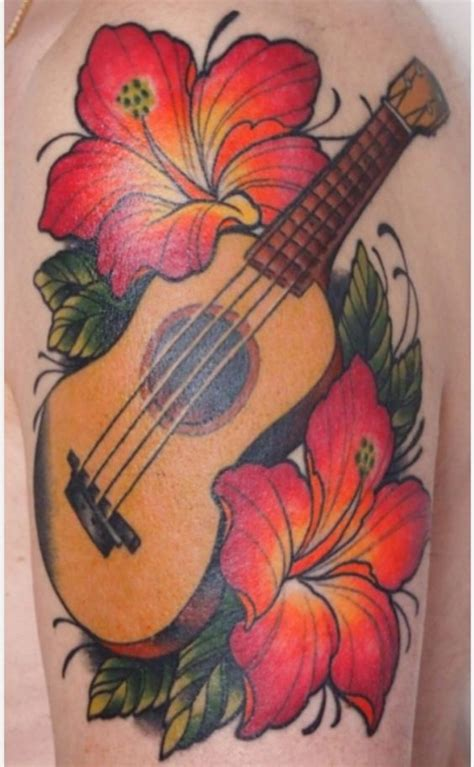 ukulele tattoo ukulele ukulele and tattoos and on