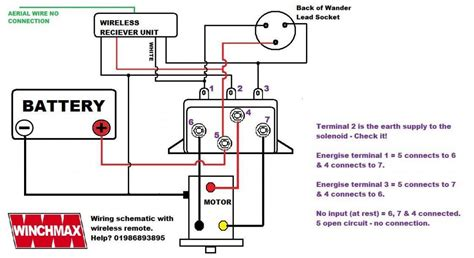 winch isolator switch wiring diagram wiring diagram with