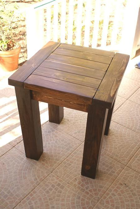 ana white woodworking plans tryde sideend table diy