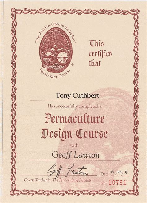permaculture design certificate europe allotment garden ken thompson s quot sceptical gardener quot and
