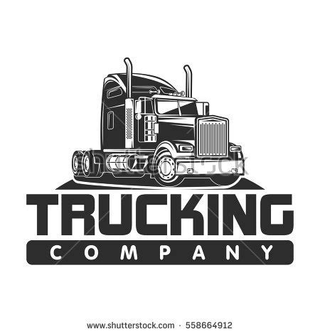 Dump Truck Logo Templates By by Big Truck Stock Images Royalty Free Images Vectors