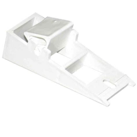 amerimax home products universal white vinyl fascia fixer