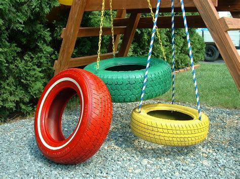 vertical tire swing tire swings