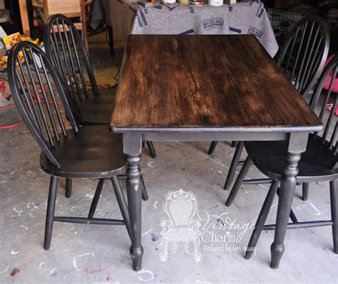 black painted dining table the 25 best black chalk paint ideas on pinterest annie
