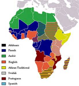 Language Map Of Africa by Map Of Africa Click On Any African Country For Its Map Amp