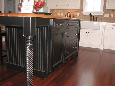 kitchen island legs wood 56 best images about kitchen islands on cabinets wooden countertops and arrow