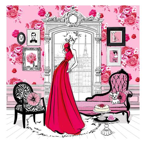 fashion house illustrated interiors book review fashion house by megan hess best design books