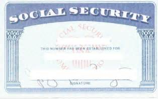 Editable Social Security Card Template Social Security Card Template Wordscrawl Com