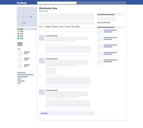free blank facebook template word pdf facebook