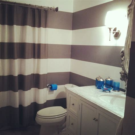 grey and white striped bathroom pin by l m perez on bathroom design pinterest