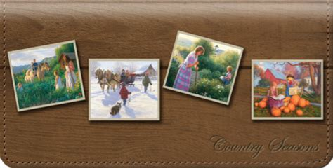 Rhuncan Character Wallet country checkbook covers country scenic checkbook wallets at personalchecksusa