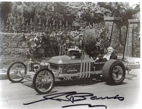 Muster Mobile Drew Totten Autographs Item 0000118420 George Barris Munster Mobile Creator Signed Photo 2