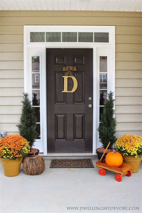 classic front door decor  bethany  dwellings
