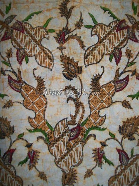 Kain Batik Kombinasi Motif Parang Bunga bahan kain batik motif parang ceplok dan bunga kcbt354 toko batik 2018