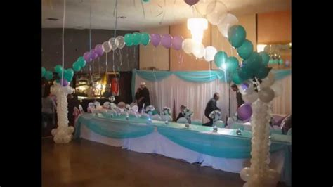 quinceanera themes for november quinceanera balloon decorations youtube