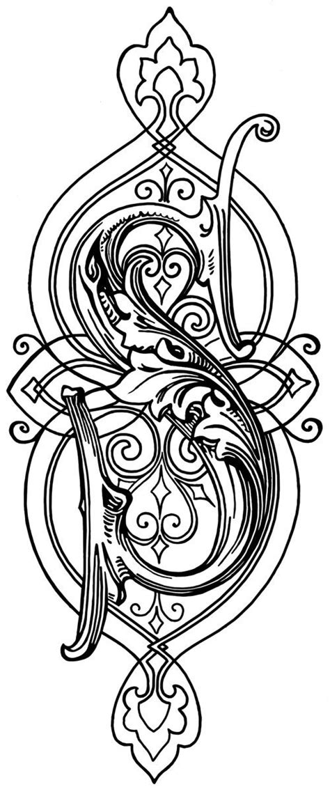 coloring pages for special needs adults 80 best illuminated art images on pinterest monograms