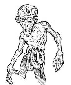 30 zombie coloring pages coloringstar