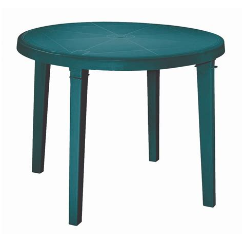 Stunning Round Plastic Patio Table Patio 037063104352 Green Plastic Patio Table