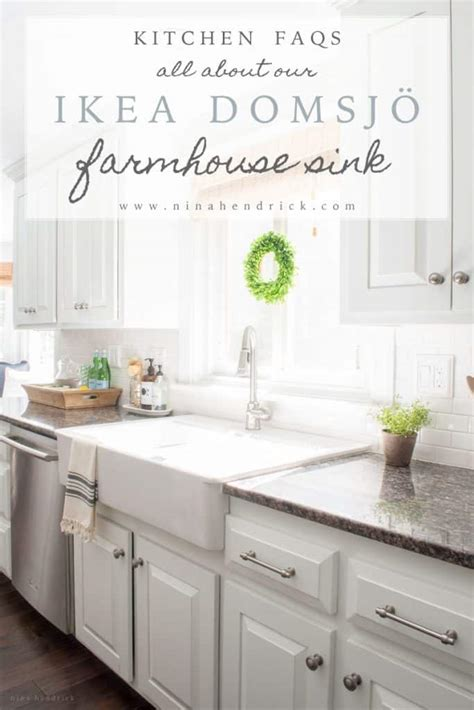 white farmhouse sink ikea ikea farmhouse sink review domsjo hendrick design co
