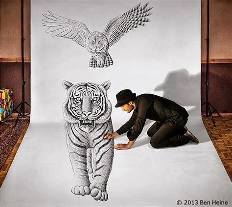 stinky el monstruo del 8424635671 blog medioambiente org un increible dibujo 3d tigre b 250 ho hombre