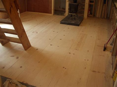 Considering a cheap, rustic wood floor   White Pine 1x12