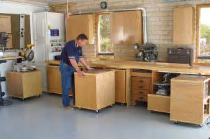Cabinets Shop Garage Woodshop Design Garage Organization