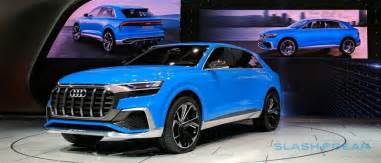 audi q8 concept previews 4 seat luxury suv with coupe