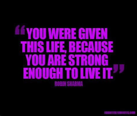 you were given this because you were given this because you are strong enough to