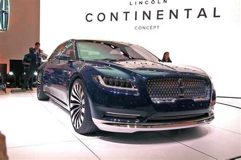 lincoln continental new 2015 new york 2015 lincoln continental concept live photos