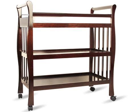 Walnut Changing Table W Changing Pad Online Shopping Walnut Changing Table